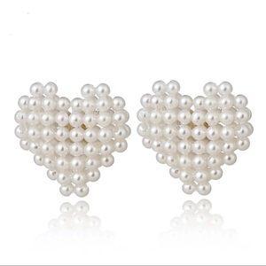 Multi Mini Pearl Earrings